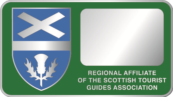Scottish Tour Guides Association Green Badge Holder